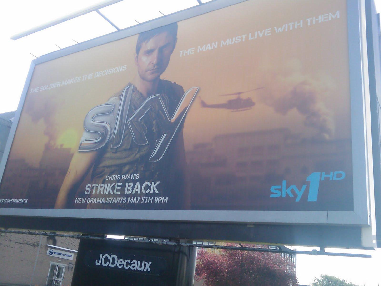 Strike Back is everywhere
