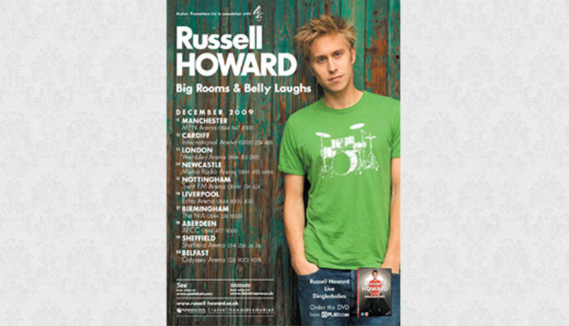 Russell Howard: Big Rooms & Belly Laughs (2009)