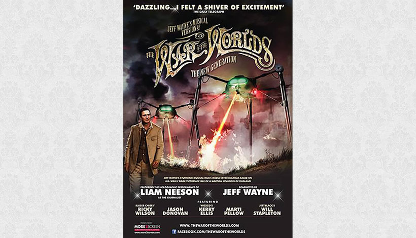 The War of the Worlds – Alive on Stage! The New Generation (2012)