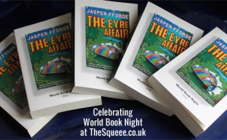 5 copies of The Eyre Affair