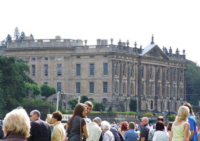 Chatsworth House – close, but no cigar!