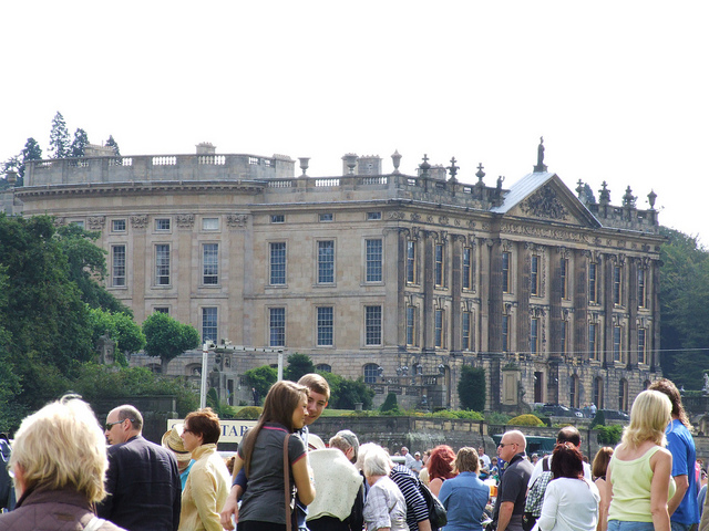 Chatsworth House – close, but no cigar!