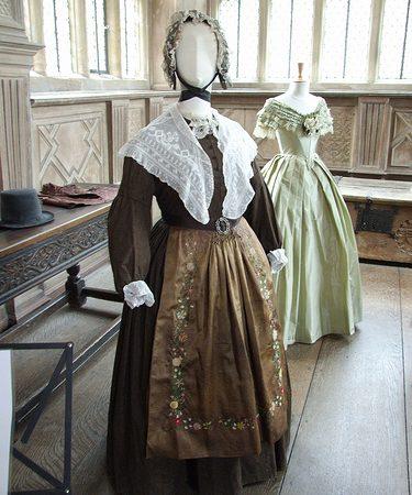 Jane Eyre costumes return to Haddon Hall
