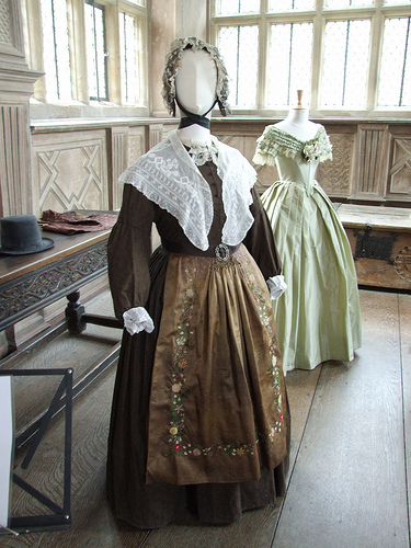 Jane Eyre costumes return to Haddon Hall