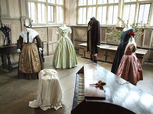 Shameless plug: Jane Eyre Behind the Scenes Tour at Haddon Hall