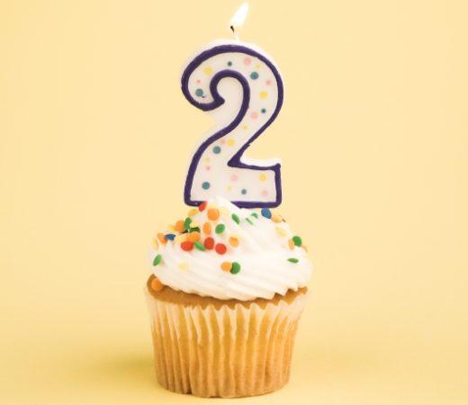 Happy 2nd birthday, blog!