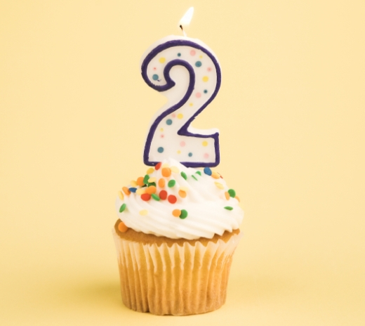 Happy 2nd birthday, blog!