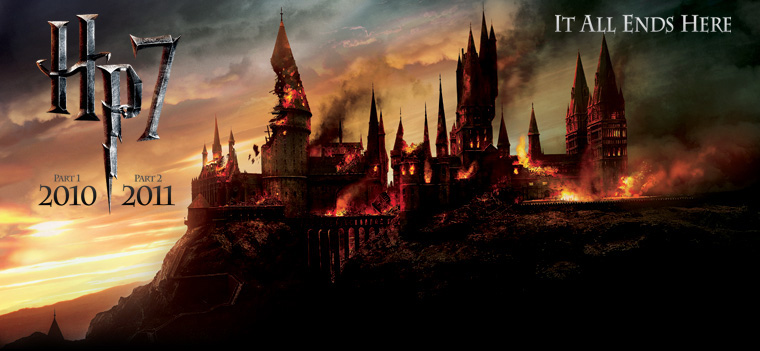 Hogwarts is on FIRE!