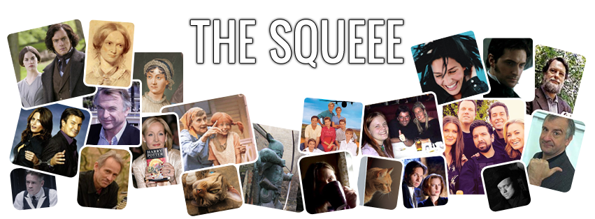 The Squeee banner with lots of pictures of things I enjoy